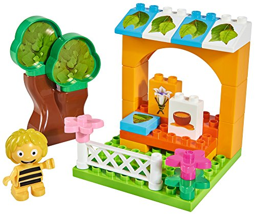 BIG 800057127 - Biene Maja Bloxx BM Honigstand, Spielwarenfabrik