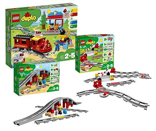 LEGO Duplo Dampfeisenbahn Set: 10874 Dampfeisenbahn + 10872...