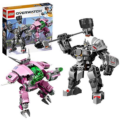 LEGO 75973 Overwatch D.Va & Reinhardt (Vom Hersteller Nicht mehr...