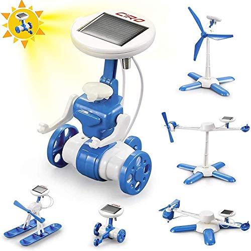 CIRO Experimente für Kinder ab 6, Stem Lernspielzeug Solar Roboter...