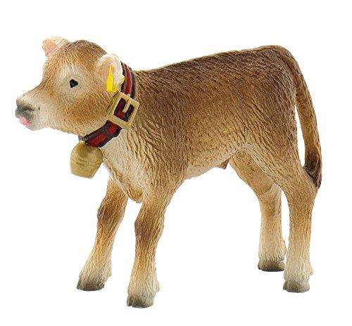 Bullyland 62754 - Spielfigur, Alpenkalb Benni, ca. 5 cm, ideal als...
