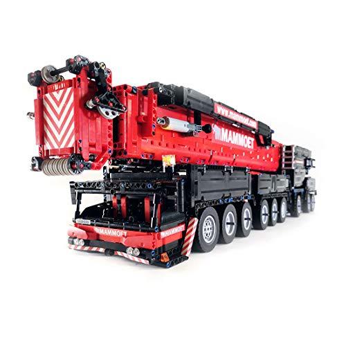 LesDiy Technik Kran Liebherr LTM1750 Kranwagen V2.0 mit...