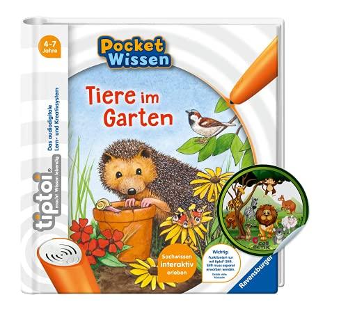 Collectix tiptoi Ravensburger Buch   Pocket Wissen - Tiere im Garten +...