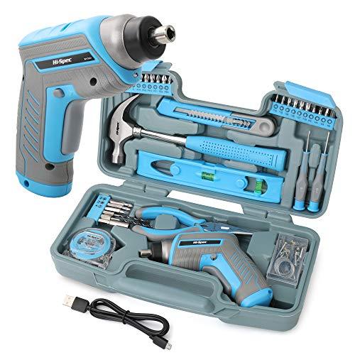 Hi-Spec 35-teiliges blaues Heimwerker-Werkzeugset mit...