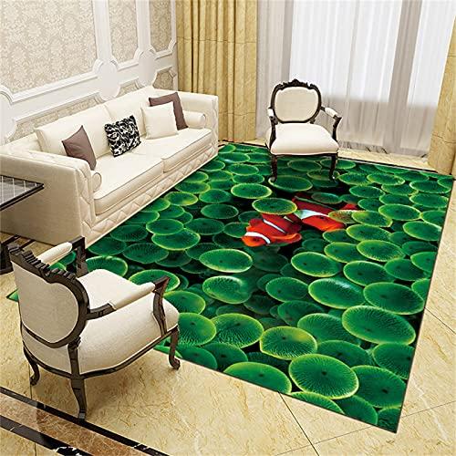 Zuhause Wohnzimmer Schlafzimmer Teppich, Kreativer Druckteppich,...