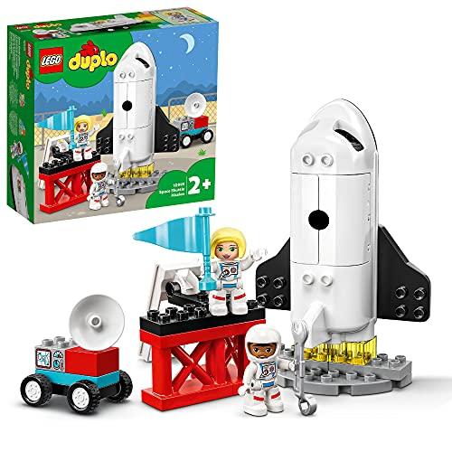LEGO 10944 DUPLO Spaceshuttle Weltraummission Rakete Spielzeug für...
