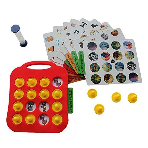 Gedächtnis-Puzzle-Spiel Kinder Detektiv Brettspiel Muster passendes...