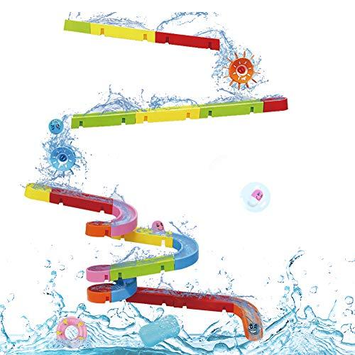 Nuheby Badespielzeug Badewannenspielzeug BAU-Puzzle...