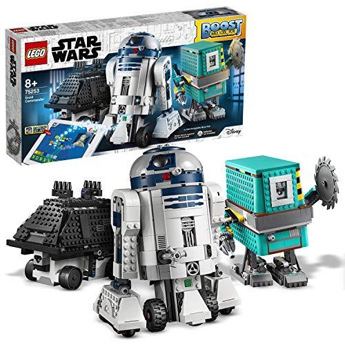LEGO Star Wars 75253 BOOST Droide, App-gesteuerte und programmierbare Roboter, Programmierset für Kinder,...