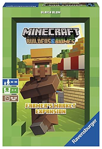Ravensburger 26869 - Minecraft Builders & Biomes Farmers Market...