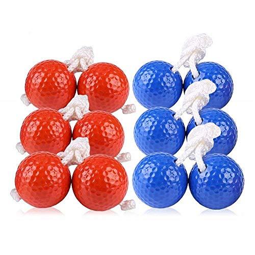 Kaptin 6Pack Leiter Toss Ball Ersatz Leiter Golf Bälle Bolos Bolas...
