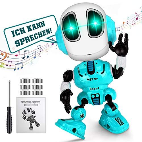 WEARXI Kinder Spielzeug Jungen - Spielzeug ab 3 Jahre, Roboter KinderSpielzeug Jungen, Intelligenter Roboter...