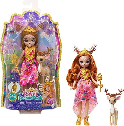 Enchantimals GYJ12 - Royals Königin Daviana Puppe (20,3cm) &...