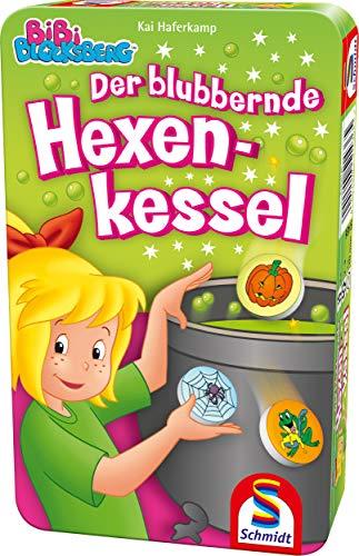 Schmidt Spiele 51436 Bibi Blocksberg, Blubbernder Hexenkessel, Bring...