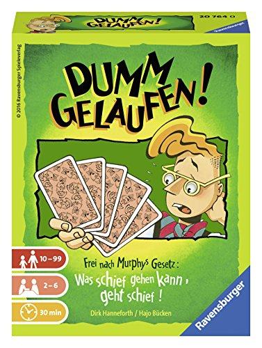 Ravensburger 20764 - Dumm gelaufen! Kartenspiel für 2-6 Spieler,...