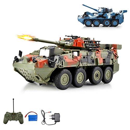 HSP Himoto Leopard RC Ferngesteuerter Kampfwagen Militärfahrzeug...