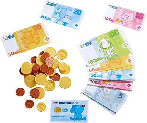HABA 304131 - HABA-Kaufladen-Spielgeld, Kaufladenzubehör mit...