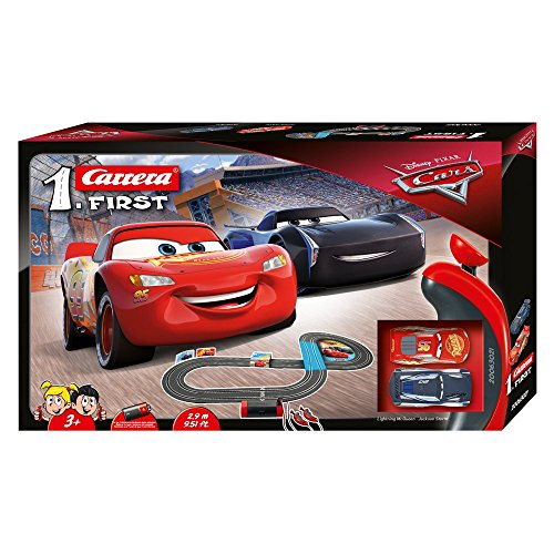 Carrera FIRST Disney Pixar Cars 2,9 Meter 20063021 Autorennbahn ab 3...