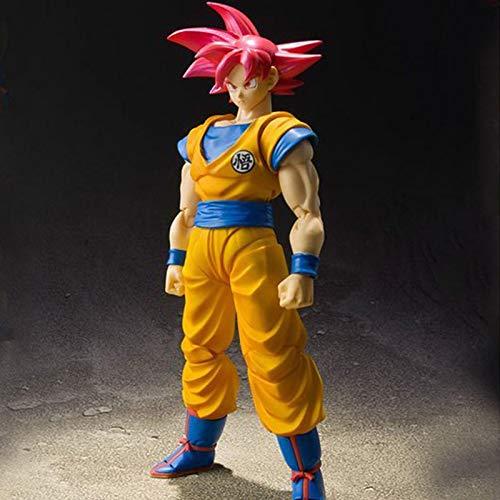 zzdgfc Dragon Ball Super Saiyajin Rote Haare Sohn Goku Zamasu PVC...