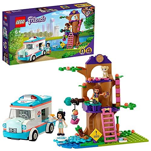 LEGO 41445 Friends Tierrettungswagen Spielzeugauto mit Olivia und Emma...