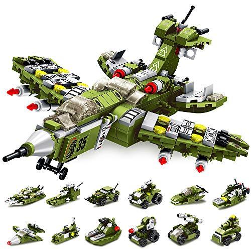VATOS Bausteine Spielzeug 25-in-1 STEM Bauspielzeug ab 6 Jahren 576...