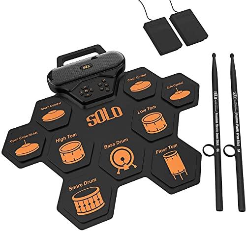 AUPHY-Solo SD50 elektronisches Schlagzeug, Eingebauter...