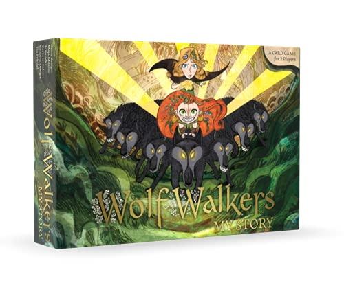 WolfWalkers My Story I Kartenspiel für 2 Spieler I 50+ schöne...