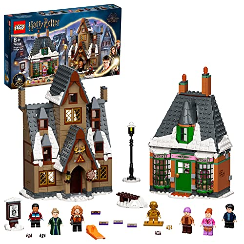 LEGO 76388 Harry Potter Besuch in Hogsmeade Spielzeug ab 8 Jahre, Set...