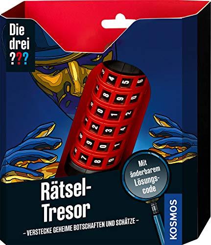 Kosmos 632267 Die drei ??? Rätsel-Tresor, Detektiv Spielzeug Set für...