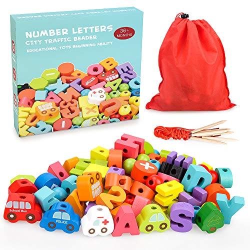 Montessori Spielzeug für 1 2 3 Jährige Mädchen, Lernspielzeug...