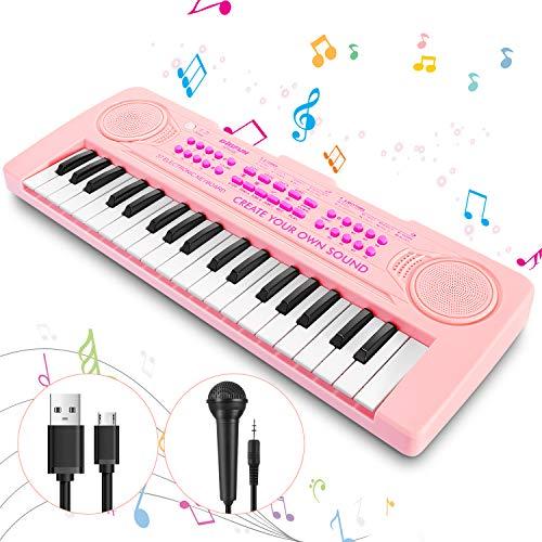 Magicfun Klavier Keyboard Spielzeug für Kinder, 37 Minitasten Piano...