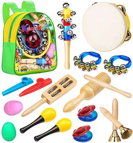 Smarkids Musikinstrumente für kinder, Spielzeug von Holz...