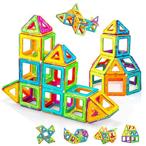 Condis Magnetische Bausteine 62 Teile Magnetspielzeug Magnete Kinder Magnetbausteine Magnet Spielzeug Kinder...