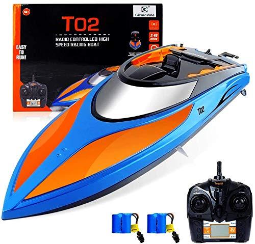 GizmoVine Ferngesteuertes Boot für Pools und Seen ,2.4 GHz 25KM / H...