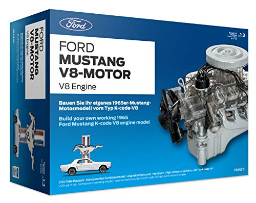 Franzis FMV019 Ford Mustang V8-Motor | 200-Teile...