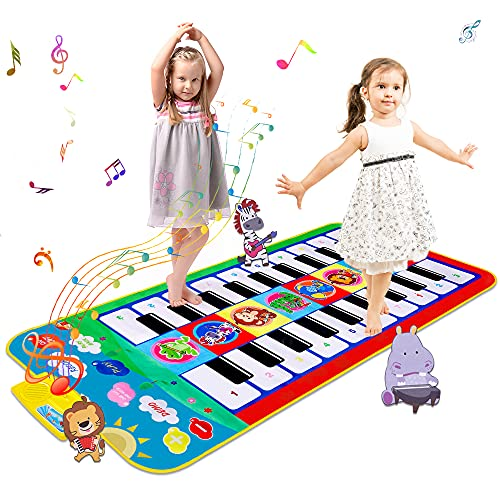"m zimoon Klaviermatte, Kinder Bunte Musikmatte 44.09"" Große..."