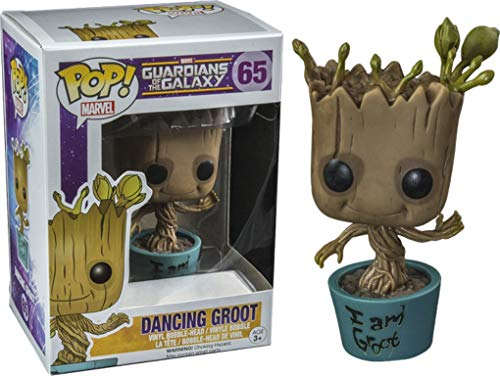 Funko POP! 5253 Guardians of The Galaxy - Dancing I Am Groot Vinyl...