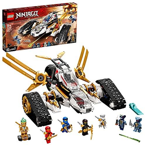 LEGO 71739 NINJAGO Ultraschall-Raider, Konstruktionsspielzeug Set für...
