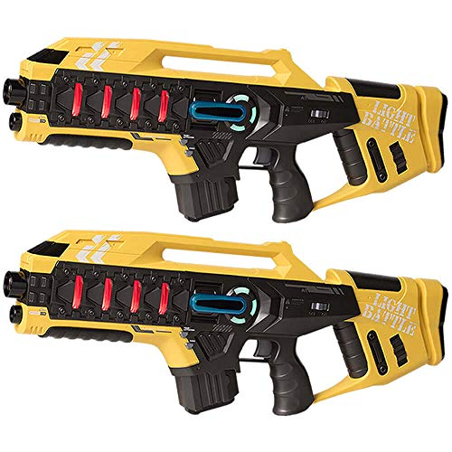 Light Battle Anti-Cheat Laser Tag Set - 2 Mega Blaster...