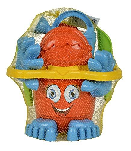 Simba 107113021 - Eimergarnitur mit Füßen, Sandspielzeug,...