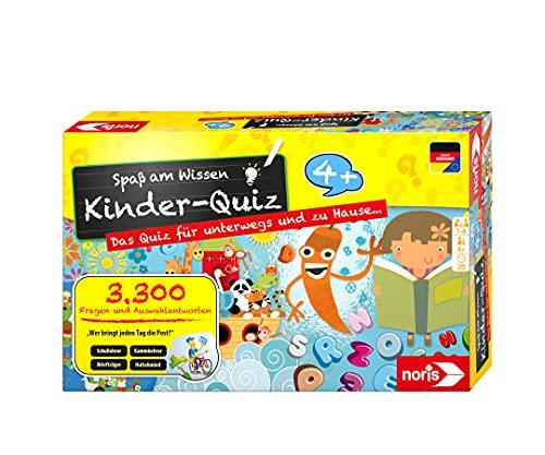 Noris 606013595 Kinder-Quiz, der Familen-Spielspaß für Zuhause oder...