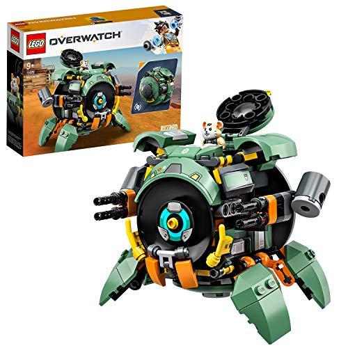 LEGO 75246 Overwatch Wrecking Ball mit Hamster-Figur Hammond, Spielzeug