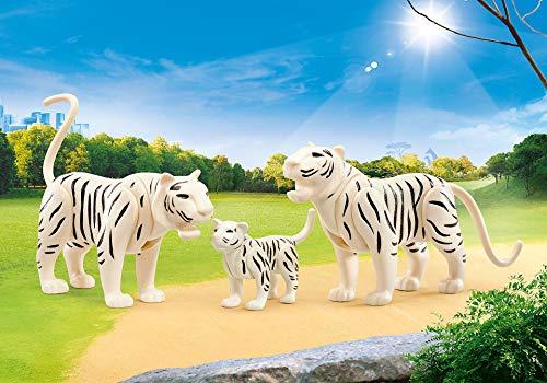 Playmobil – 9872 – Zoo – Familie der weißen Tiger – in...