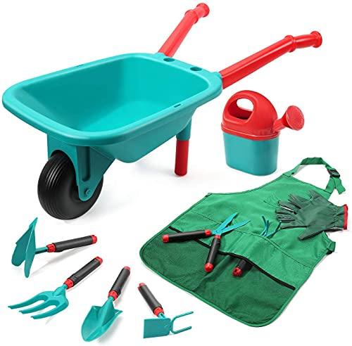 cute stone Kinder Gartengeräte Set, Gartenarbeit Werkzeug mit...