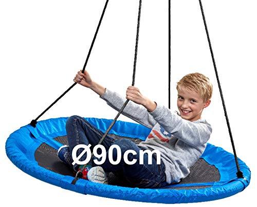 Izzy Nestschaukel 90 cm 150 kg Schaukel Kinder (90cm Schaukel - blau)