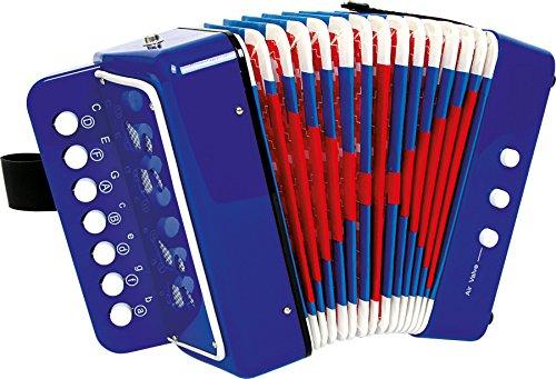 """Small Foot 2020271 Akkordeon """"Blau"""", fördert das Musik- und..."""