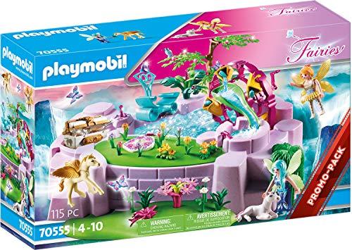 PLAYMOBIL Fairies 70555 Zaubersee im Feenland, Zum Bespielen mit...