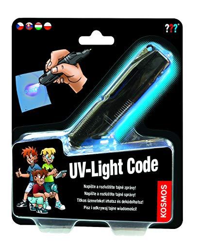 KOSMOS 616144 Die drei UV-Lichtcode mehrsprachige Version (HU, CZ, SK,...