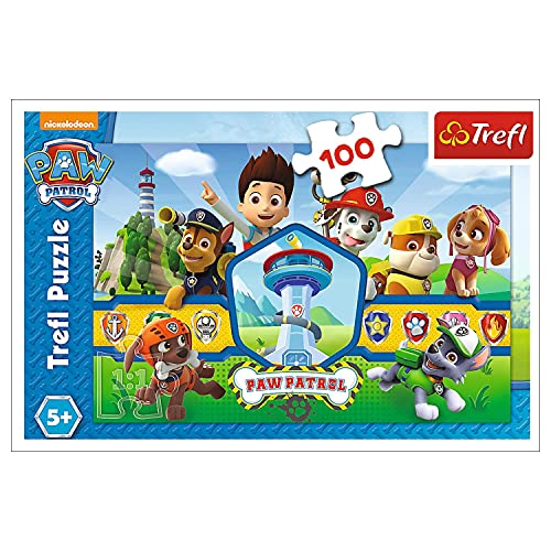 Trefl, WPU-16351-01-001-01 Puzzle, Das Heldenteam, 100...
