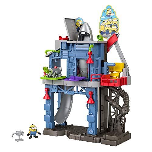 Imaginext Minions GMP35 - der Gru Unterird mit Minion-Figur, Spielzeug...